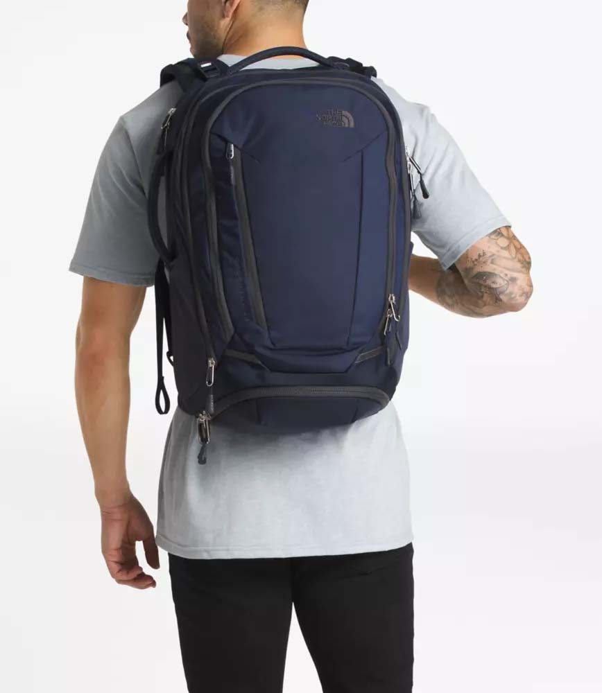 North Face travel backpack carry on