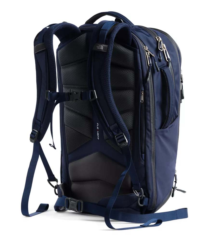 north face overhaul carry on backpack