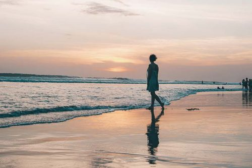 when to travel to Bali beautiful sunsets
