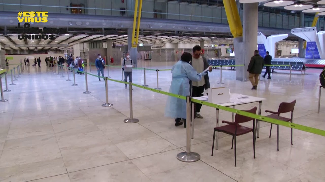Video – this is the new reality of the european airports in the midst of the pandemic