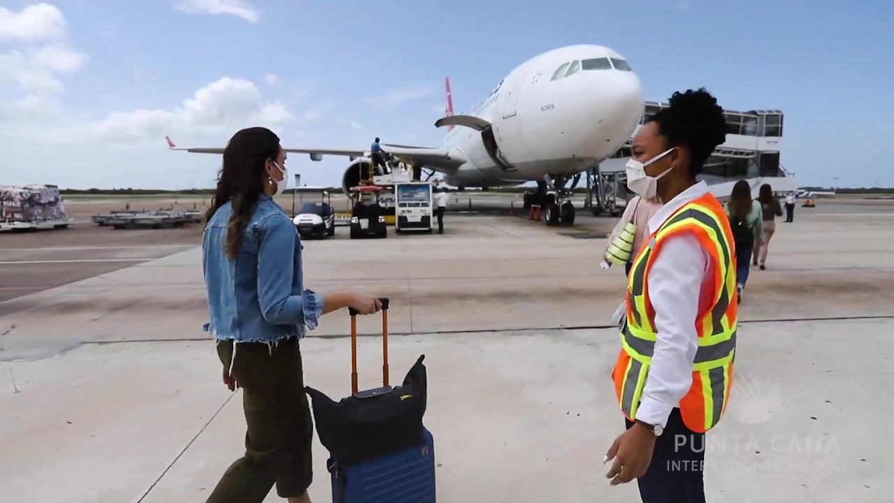 Video – The Punta Cana airport prepares to start flights in July