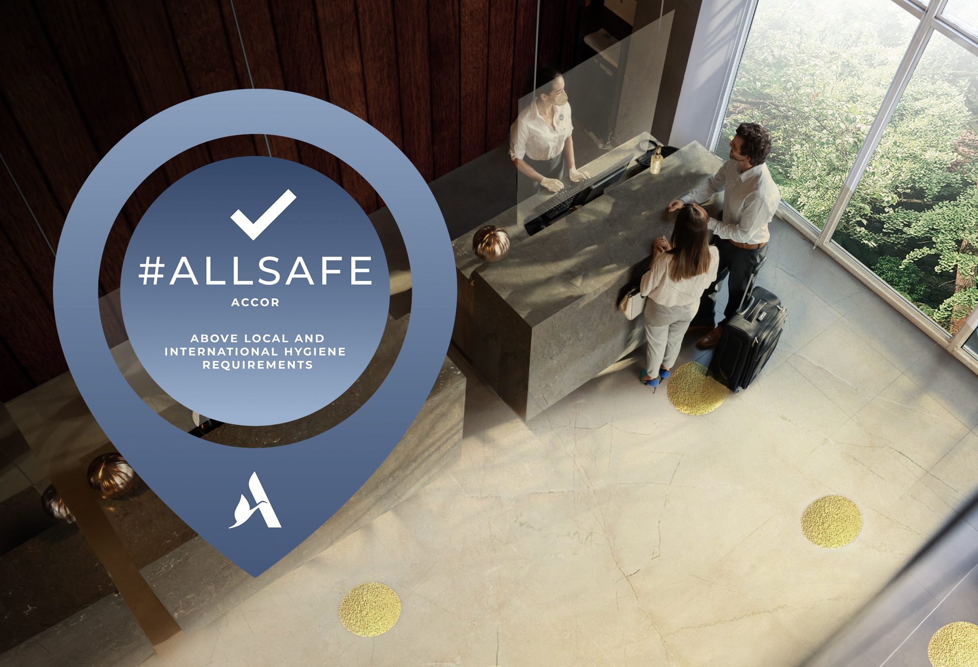 Accor reinforces its hygiene protocols under an own label