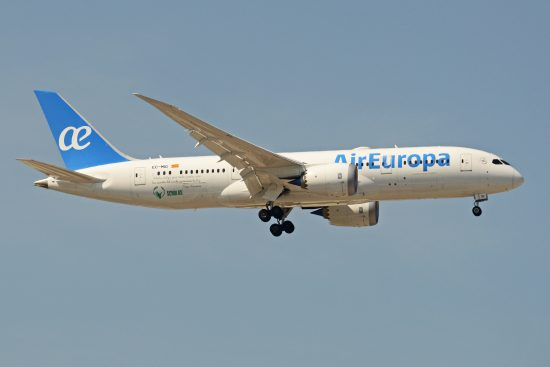 Air Europa resumes operations to the Caribbean in mid-July