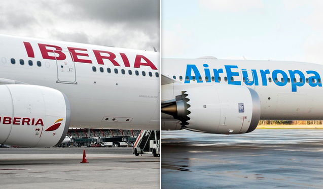 Iberia: fear of Air Europe to hide their economic situation