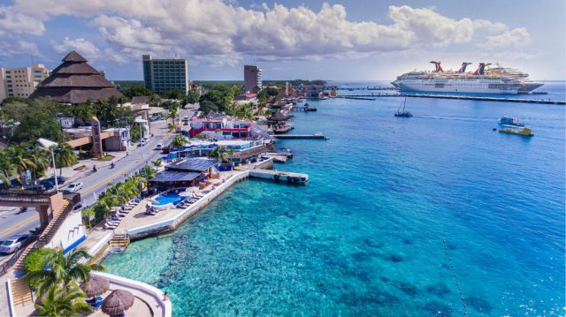 Mexican caribbean: report to shipping that bleeds to tourists