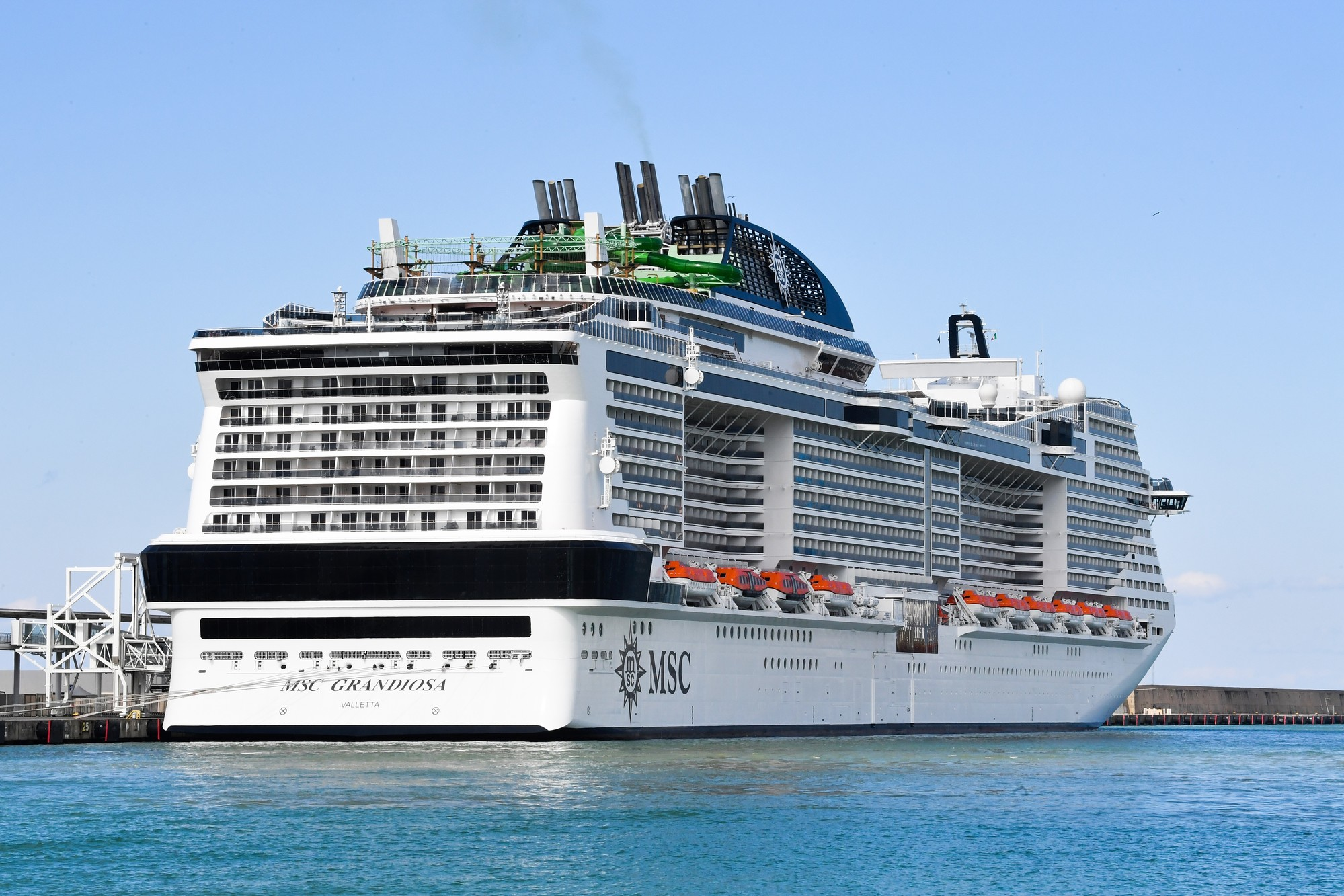Summer vacation : the company MSC Cruises resumes its activities in the Mediterranean