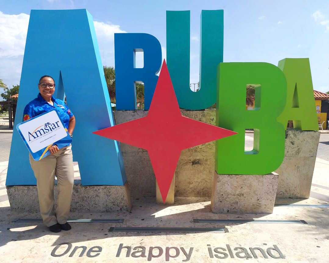 Amstar DMC added Aruba to its growing portfolio of destinations