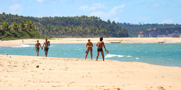 Uncrowded beaches: Caraíva