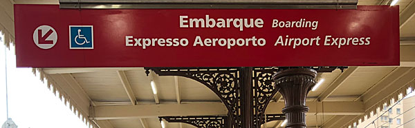 Guarulhos airport train: Airport Express