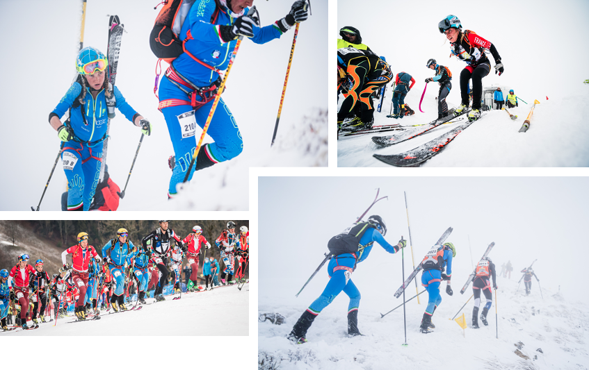 Ski touring: the Italians win the day and Axelle Gachet-Mollaret wins bronze at Arêches-Beaufort
