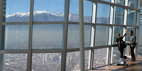 Things to do in Santiago: Sky Costanera